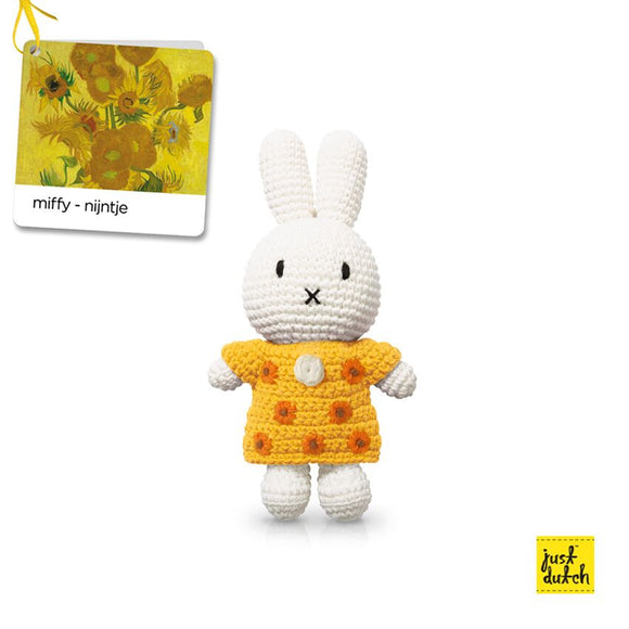 Miffy and Yellow Sunflower Dress