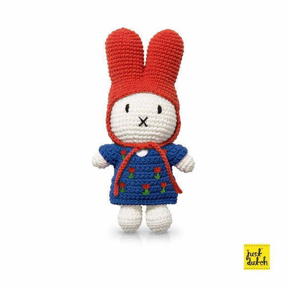 Miffy and blue Tulip dress+Hat