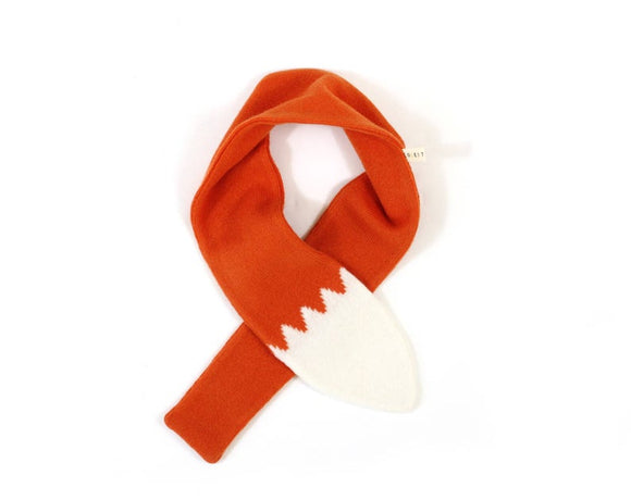 Foxie tail scarf (orange)