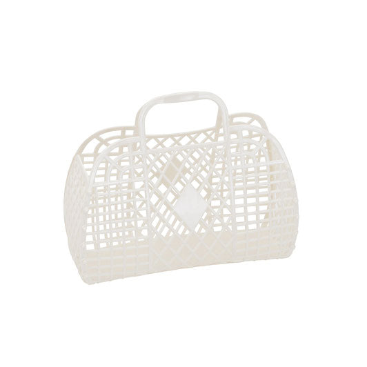 Retro Basket-Cream