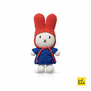 Miffy and Blue coat+Red Hat