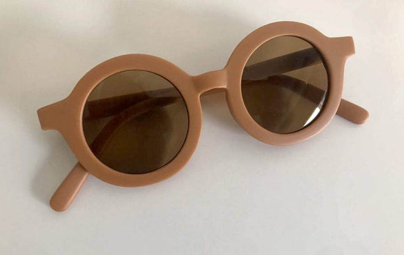 Sustainable kids Sunglasses(spice)