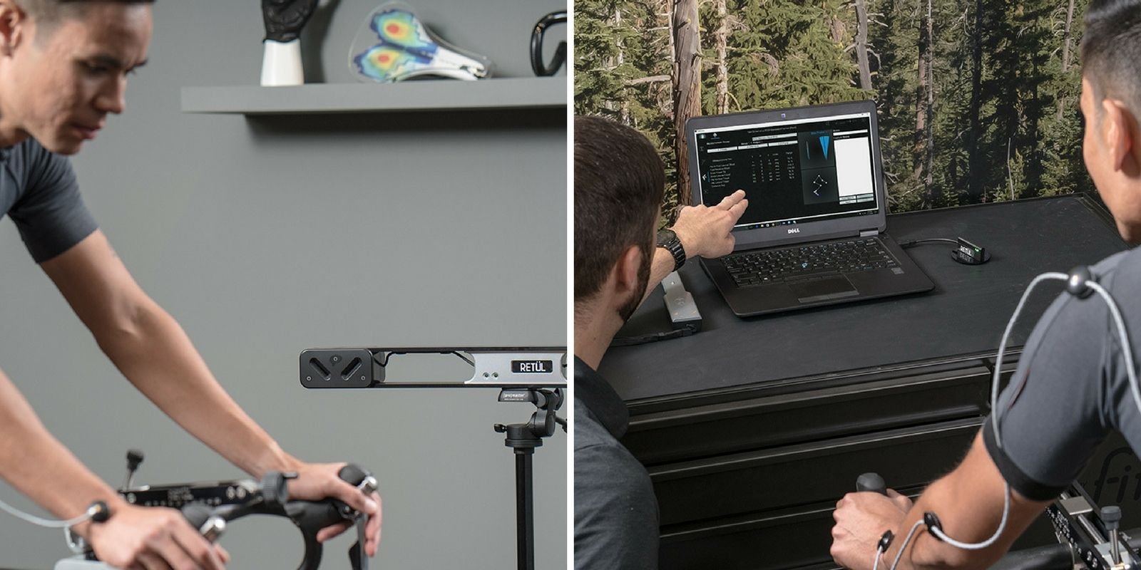 ReTul Vantage 3D Modelling Bike Fit System - Dunbar Cycles