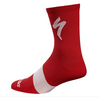 Specialized Tall Road Sock for Men Red - DUNBAR CYCLES