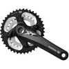 Shimano XT FC-M785 Hollowtech 2 Crankset (double) 38x26t, 175mm, Black - Out of the Box - DUNBAR CYCLES