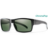 Smith Outlier XL, ChromaPop, Matte Black w/ Polarized Grey Green, OSFA - DUNBAR CYCLES