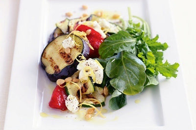 Eggplant and Rocket Salad