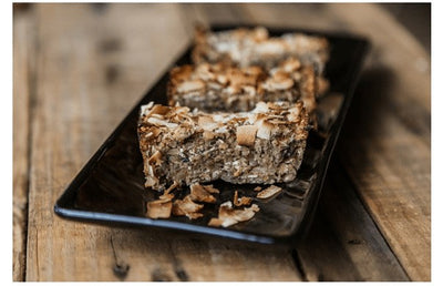 Healthy Banana Breakfast Slice