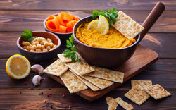 Roasted Carrot & Yoghurt Dip
