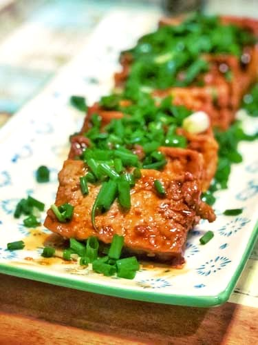 Korean Marinated Tofu