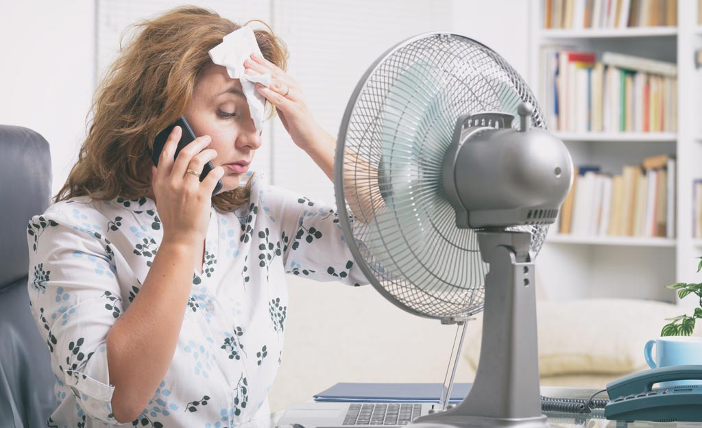 Managing Hot Flushes During Menopause