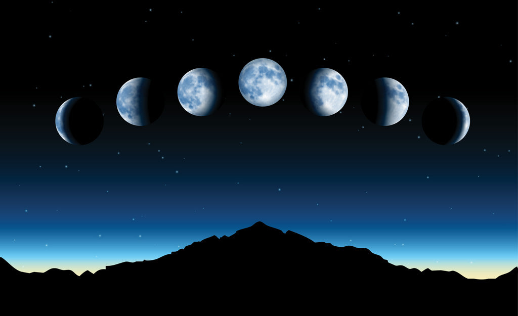Moon Phases & Your Monthly Cycle