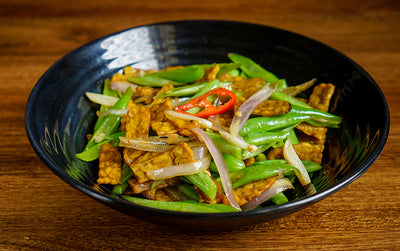 Tempeh & Green Bean Stir Fry
