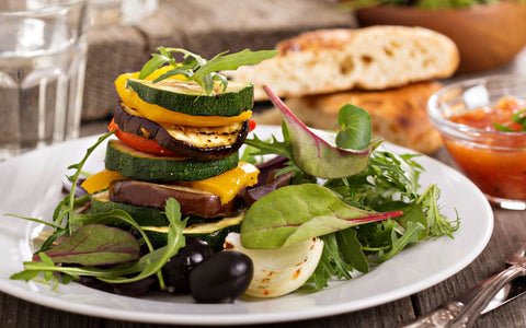 Vegetable & Quinoa Stack
