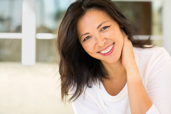 Menopause - dietary changes affect symptoms