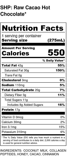 Nutritional value