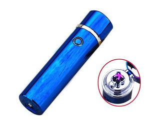 """Saber"" Double Arc Plasma Electric Lighter - Winter Blue (5 Colors Available) - ChiefLit"