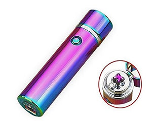 """Saber"" Double Arc Plasma Electric Lighter - Galaxy (5 Colors Available) - ChiefLit"