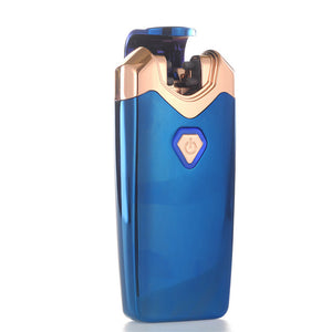 """Thunder"" Electric Lighter Double Arc Plasma Lighter - Winter Blue (5 Colors Available) - ChiefLit"