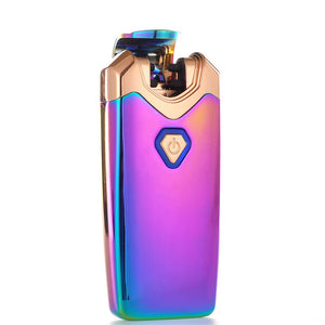 """Thunder"" Electric Lighter Double Arc Plasma Lighter - Galaxy (5 Colors Available) - ChiefLit"