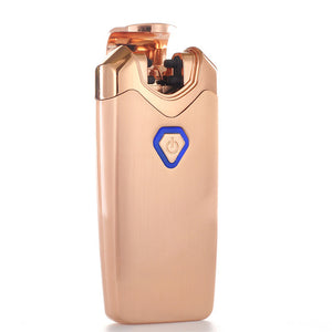 """Thunder"" Electric Lighter Double Arc Plasma Lighter - Rose Gold (5 Colors Available) - ChiefLit"