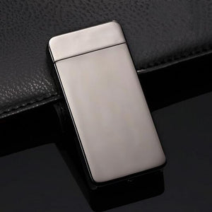 """Timeless"" Electric Dual Arc Lighter - Dark Silver (5 Colors Available) - ChiefLit"