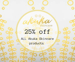 Flash Sale for 48 hours on all our natural Seaweed skincare products