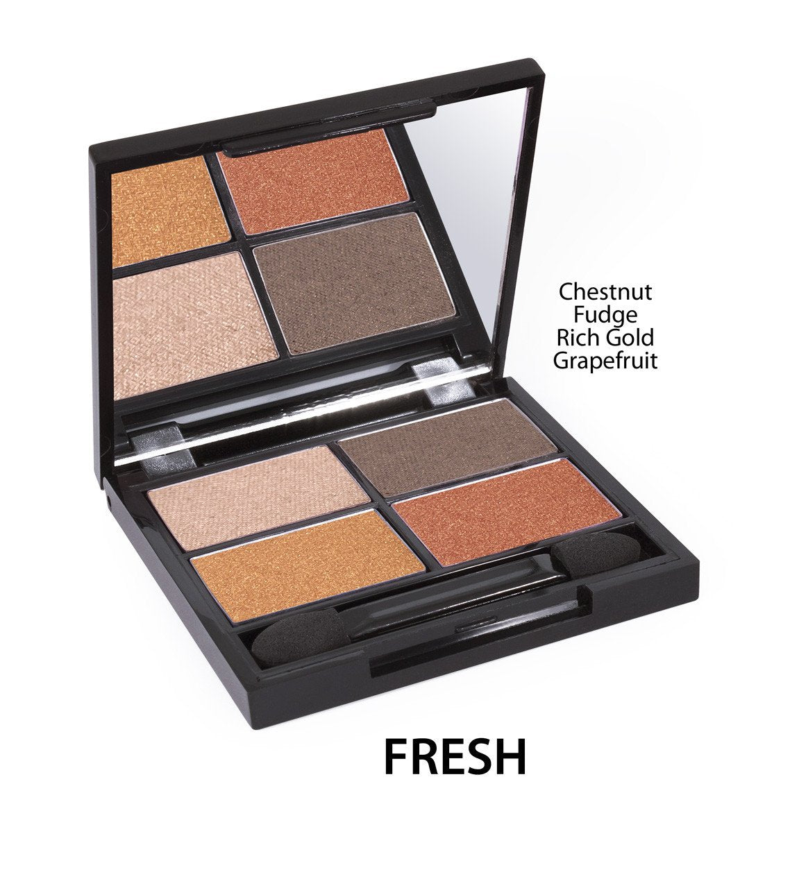 Certified Organic Quad Eyeshadow Palette