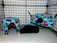 Fleece Combo 2 Cage Set - DeathPup Glider Stuff