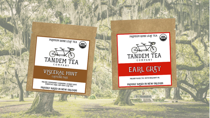 FREE TEA SAMPLES from Tandem Tea Company