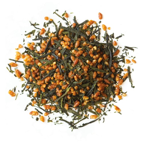 Genmaicha - Organic Green Loose Leaf Tea from Japan with Toasted Rice