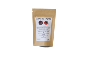 Hibiscus Tisane | Organic Herbal Tea Tandem Tea Company  Packaging