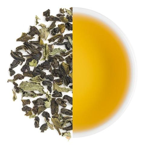 Moroccan Mint - Organic Loose Leaf Green Tea and Spearmint