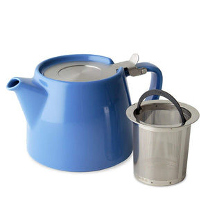 Stump Teapot with SLS Lid and Infuser | 18oz | Blue