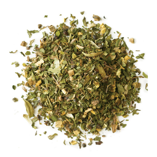 Visceral Mint | Organic Herbal Tea with Mint, Cardamom, Licorice, Basil, and Clove Tandem Tea Company Leaves