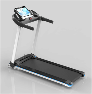 Free assembly treadmill With hand pulse, bodyfat ,Bottle and Tablet Holders