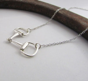 Equestrian Jewellery. Bit Pendant Necklace
