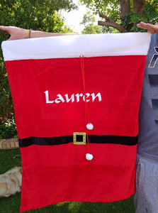 Personalised Christmas sack - HUGE