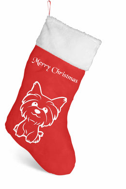 Personalised Christmas Stocking - Animal design