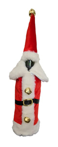 Santa Wine Bottle Outfit - front view