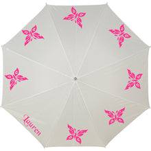 Personalised Umbrella - BUTTERFLIES (Foldable)