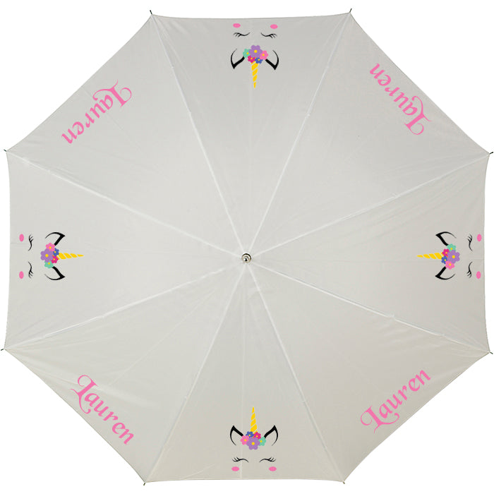 Personalised UNICORN umbrella