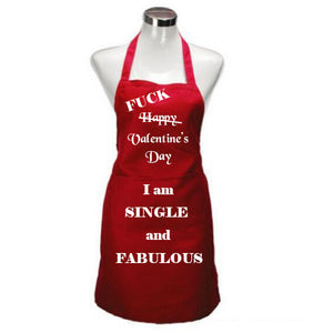 Valentine Apron - single and fabulous