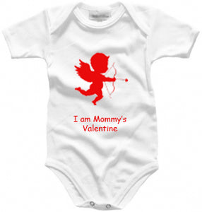 Personalised baby grow - Valentine Cupid