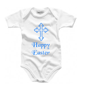Personalised Easter babygrow