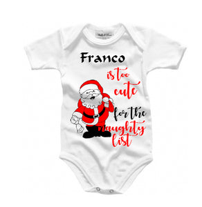 Personalised Baby grow - too cute