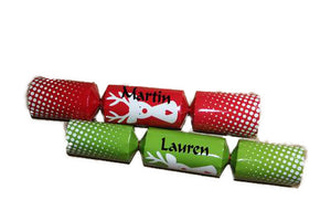 Personalised Christmas Crackers - basic