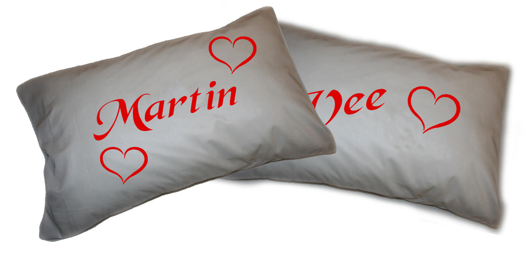 Valentine Pillowcase - Heart