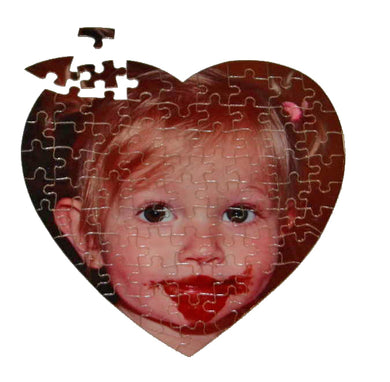 Valentine Puzzle - heart shaped