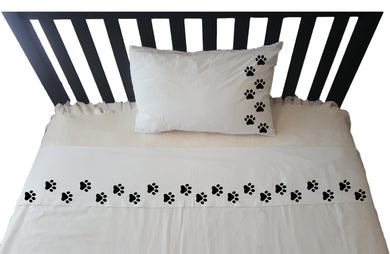 Personalised Pillowcase - PAWS walking